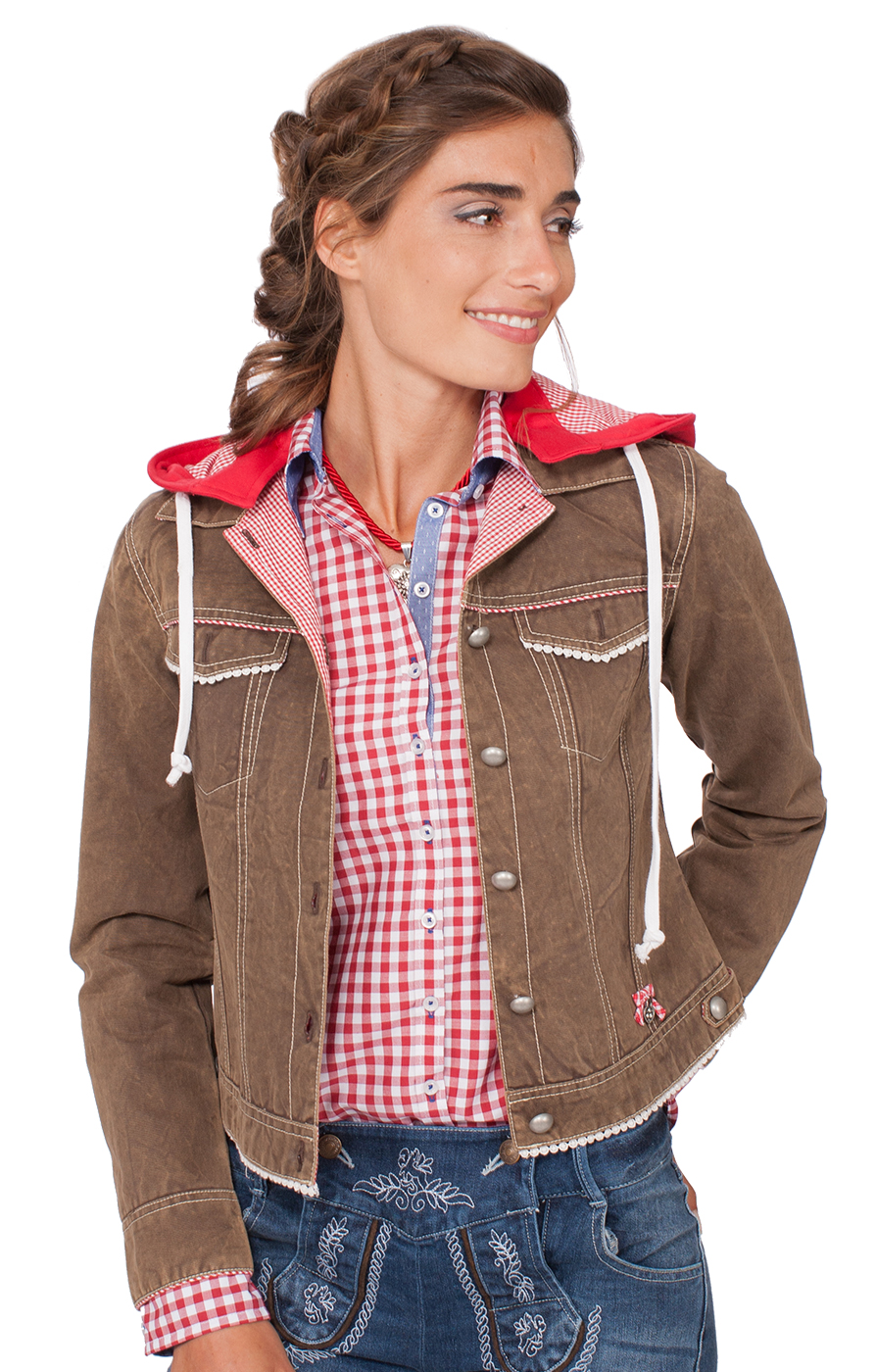 Traditional Jacket Farina brown von Spieth & Wensky