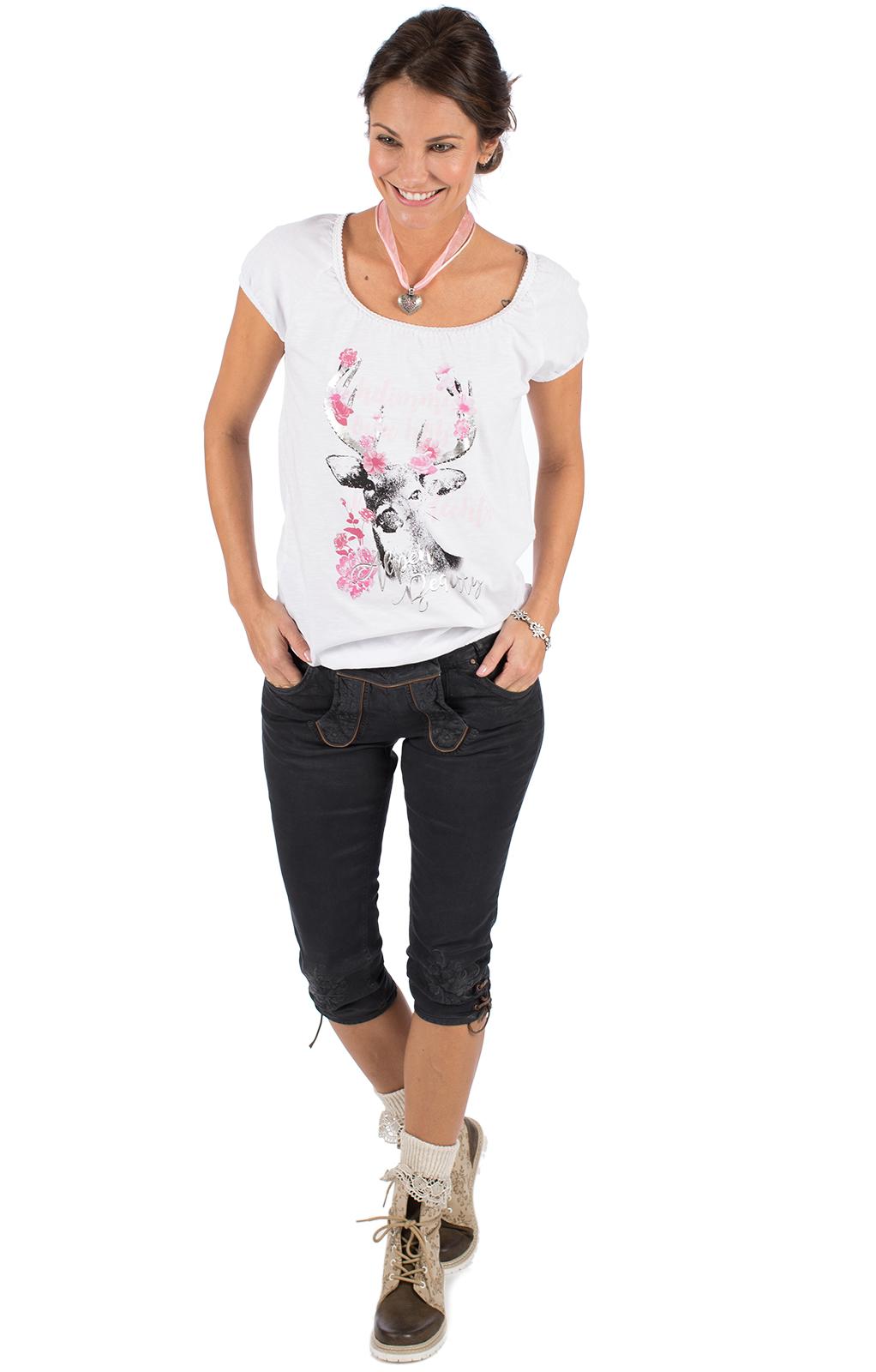 weitere Bilder von Trachten T-Shirt D43 - JULIA vintage weiß