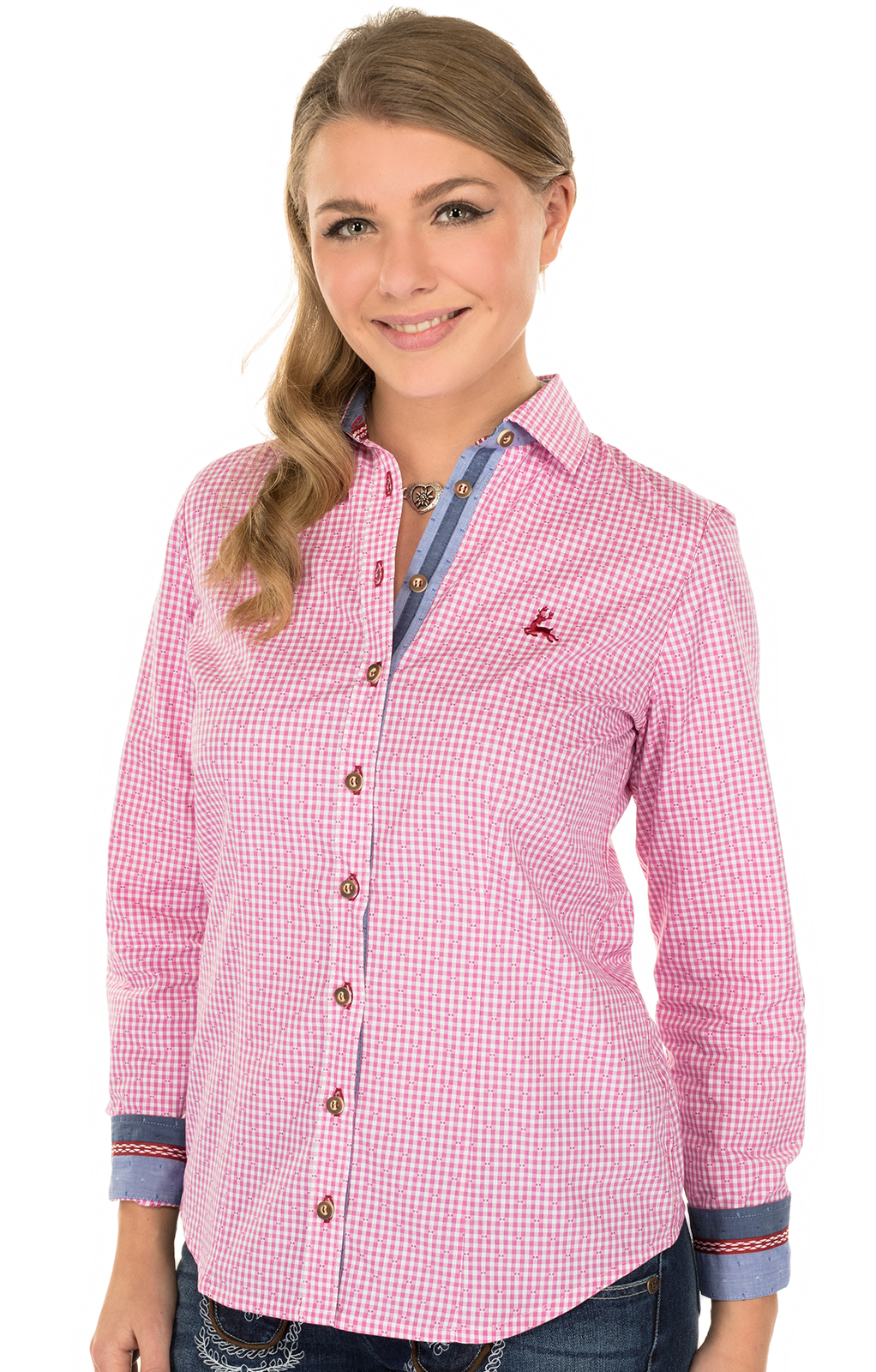 Traditional blouse TERRY pink von OS-Trachten