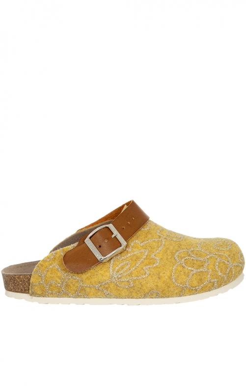 Pantoffel G101623 GLOW gelb