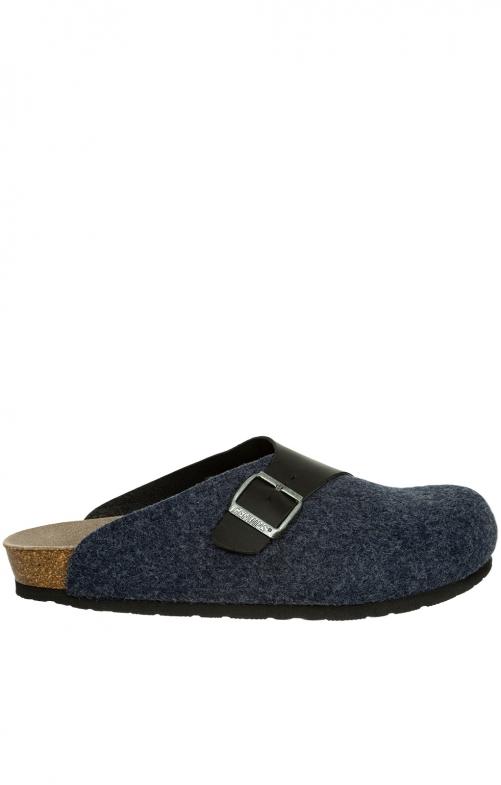 Pantoffeln G101562 BRANCO blau