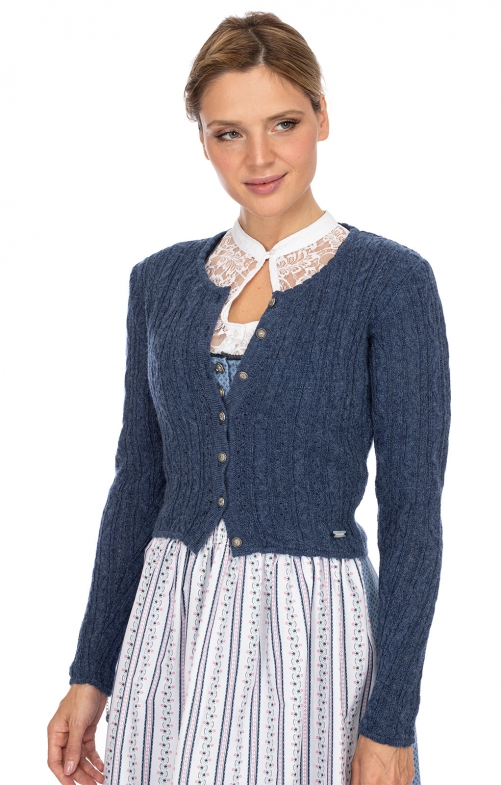Traditional Cardigan LIZ3 blue