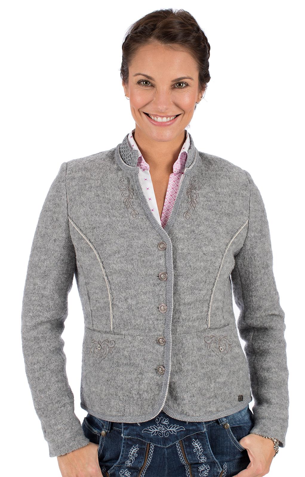Traditional Jackets Walk Jacket KRIEMHILD WJ gray von Spieth & Wensky
