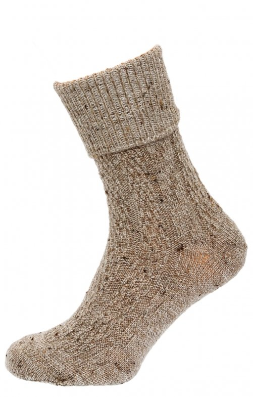Traditional socks 26011 mocca