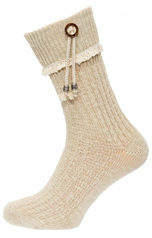 Traditional boot socks 26020 nature