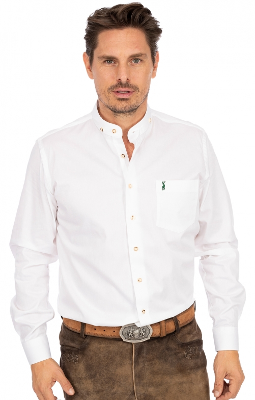 German traditional shirt LF133 white