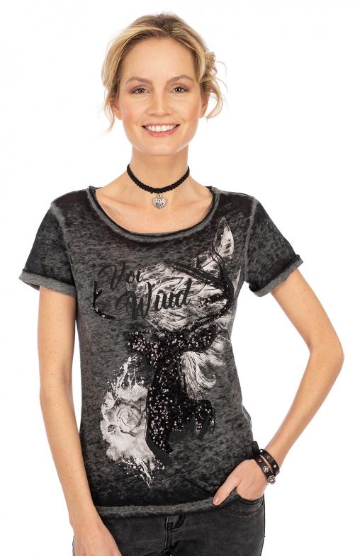 T-Shirt THORDIS schwarz