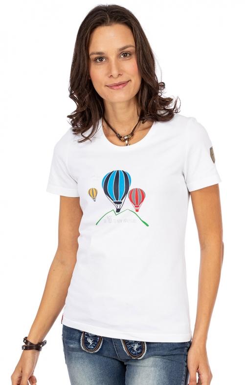 T-Shirt HOCHSTEINALM weiß