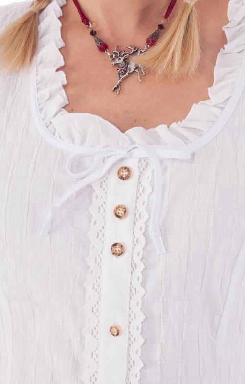 Traditional blouse Mara white