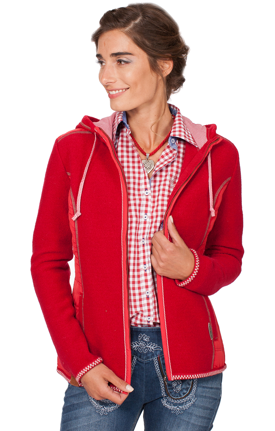 Traditional Jacket Friesland red von Spieth & Wensky