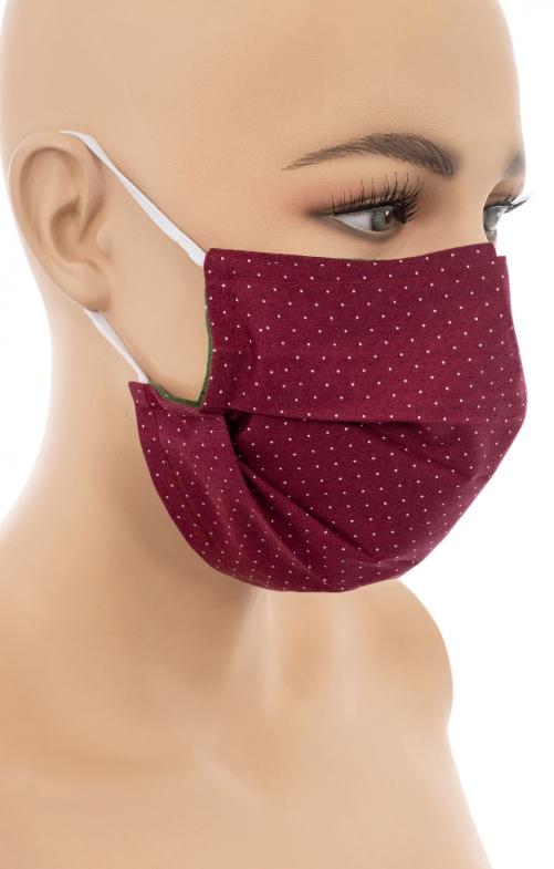 Maschera di stoffa con clip per naso SOMMERBEERE D