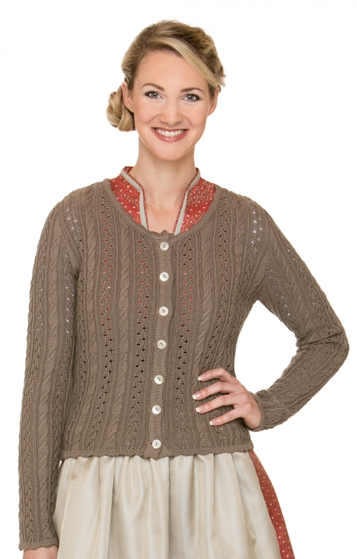 Costume cardigan LIZ2 nuss brown