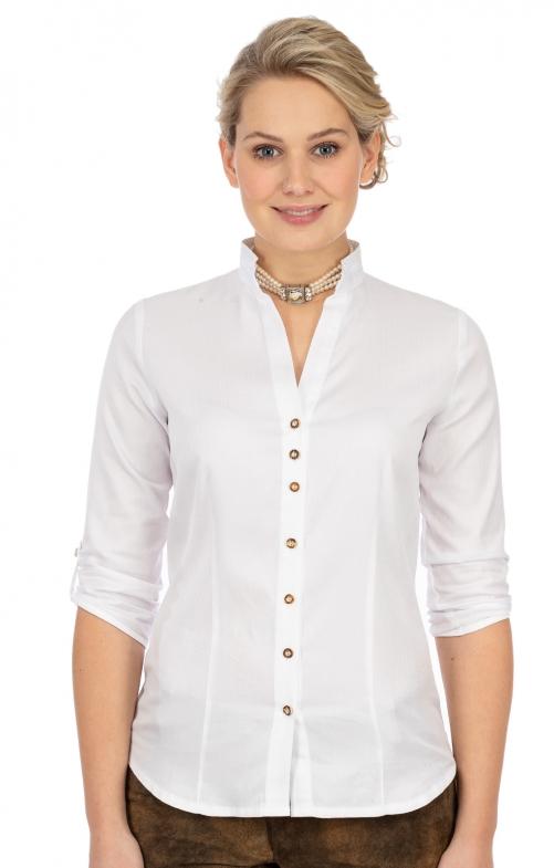 Camicetta tradizionale 450000-3873-1 bianco
