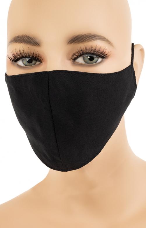 Stoffmaske SIDNEY black