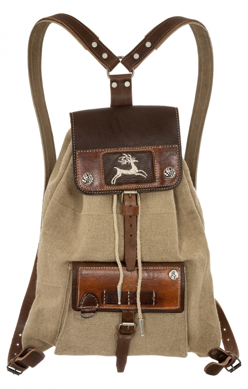 Traditional Backpack 158-3742 tan