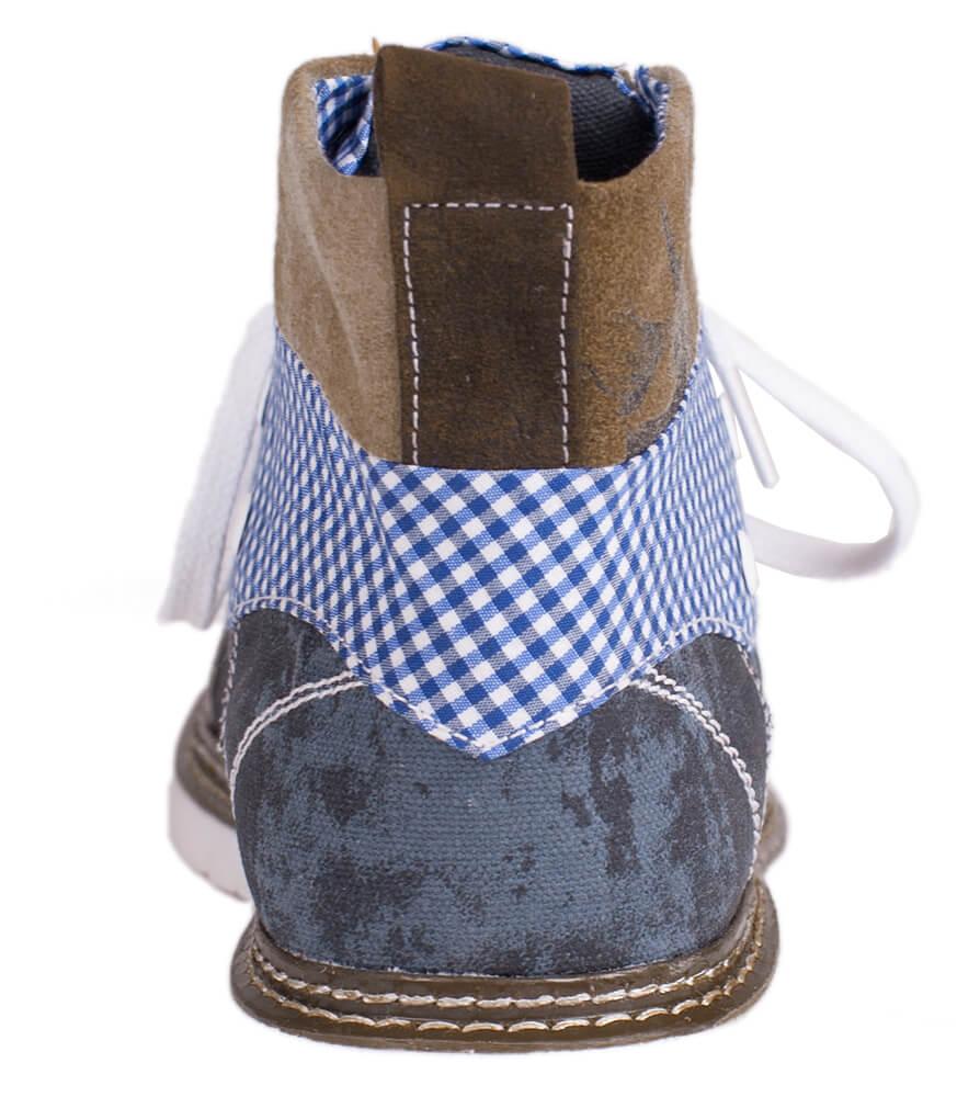 weitere Bilder von Stivali tradizionali Trachten H540Joshuablaubraun marrone/blu