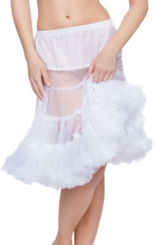 German traditional petticoat U90 white