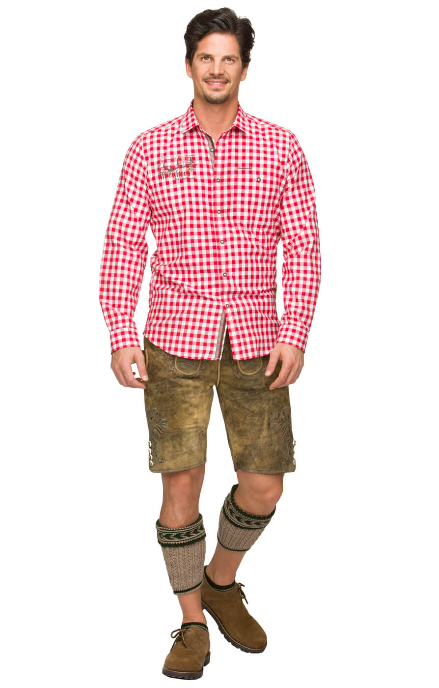 weitere Bilder von German traditional shirt Jim red