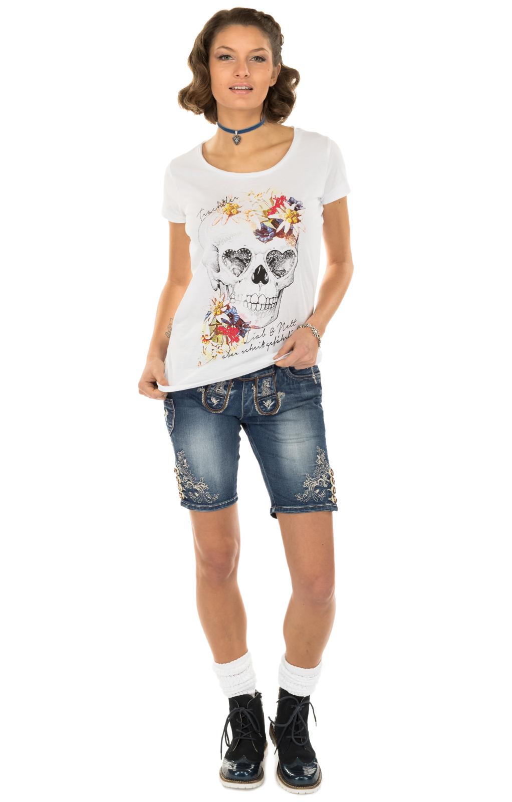 weitere Bilder von Trachten Shirt MERLEwhite