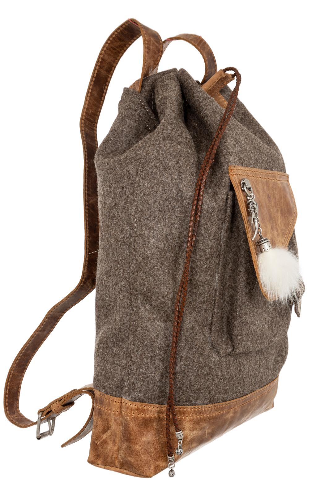weitere Bilder von Traditional Backpack 158-3743 brown MT