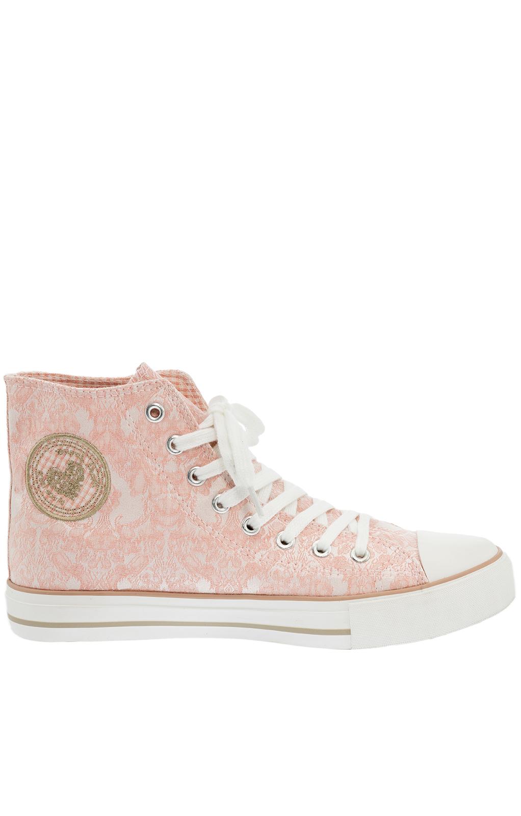 Trachten Sneaker 4713-33 rosa von Krüger Dirndl