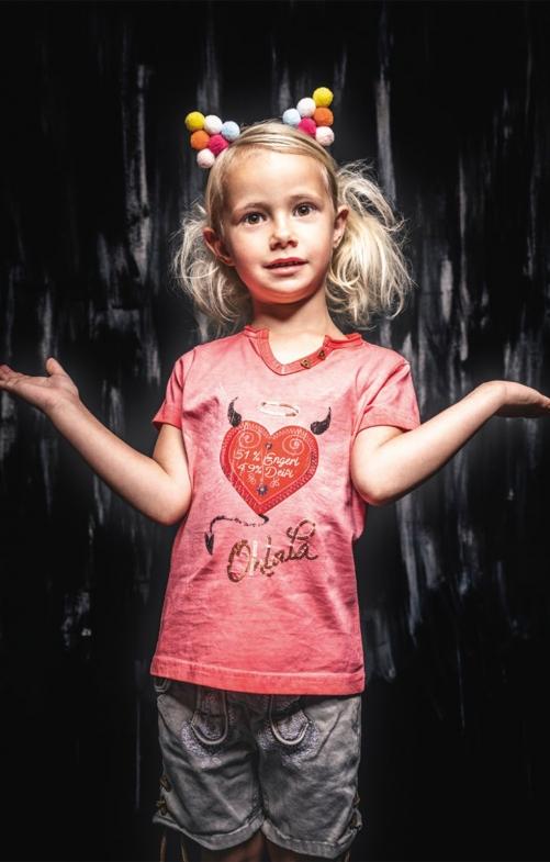 Kinder T-Shirt RIKE rot