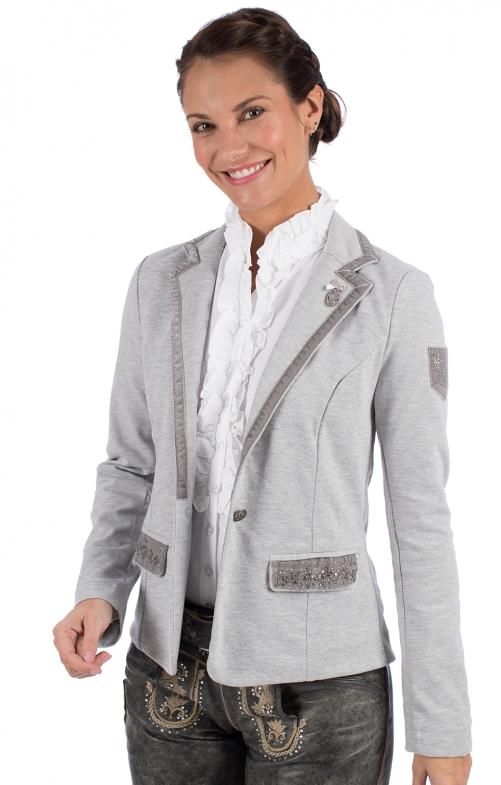 Traditional Jackets Blazer W106-DACIA gray