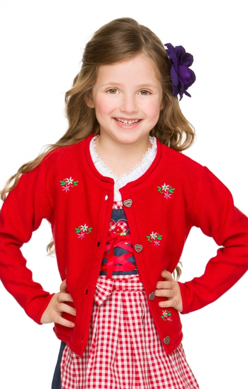 Gilet Bambini LIZZY rosso