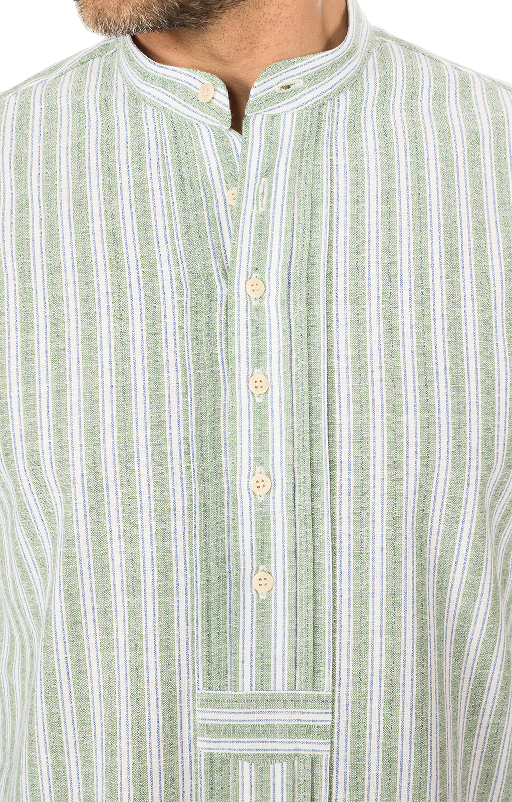 weitere Bilder von German traditional shirt Pfoad green