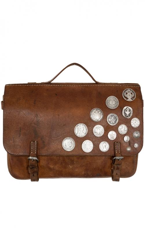 Traditional dirndl bag 276-1259 brown
