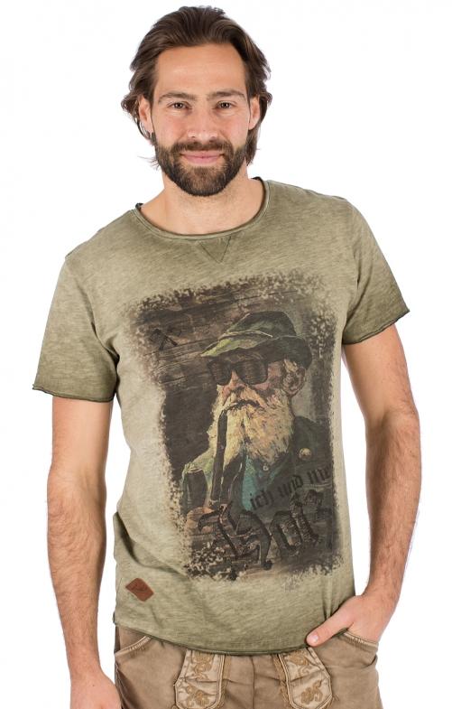 AR T-Shirt Fritz oliv