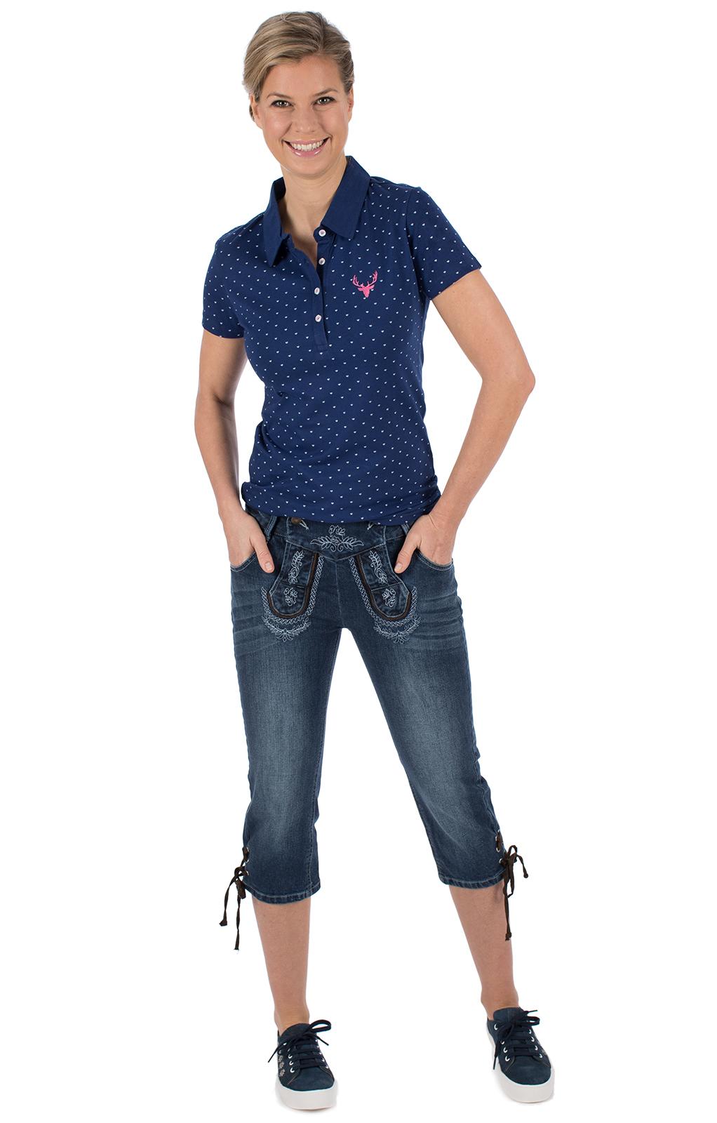 weitere Bilder von Trachten T-Shirt RUTH blau