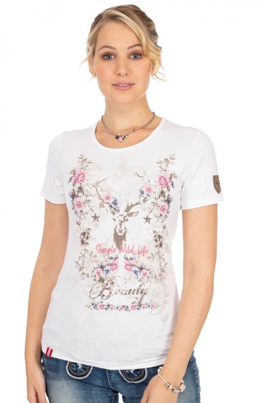 T-Shirt BAENKENALM weiß