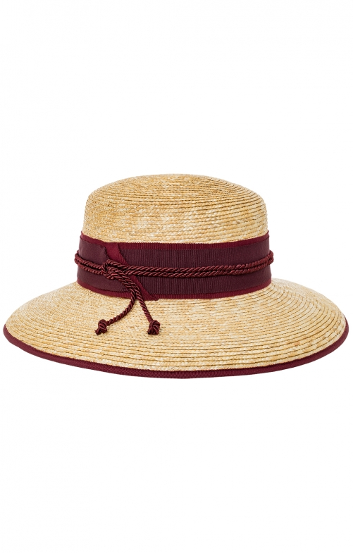Trachten Hats 37505E nature bordeaux