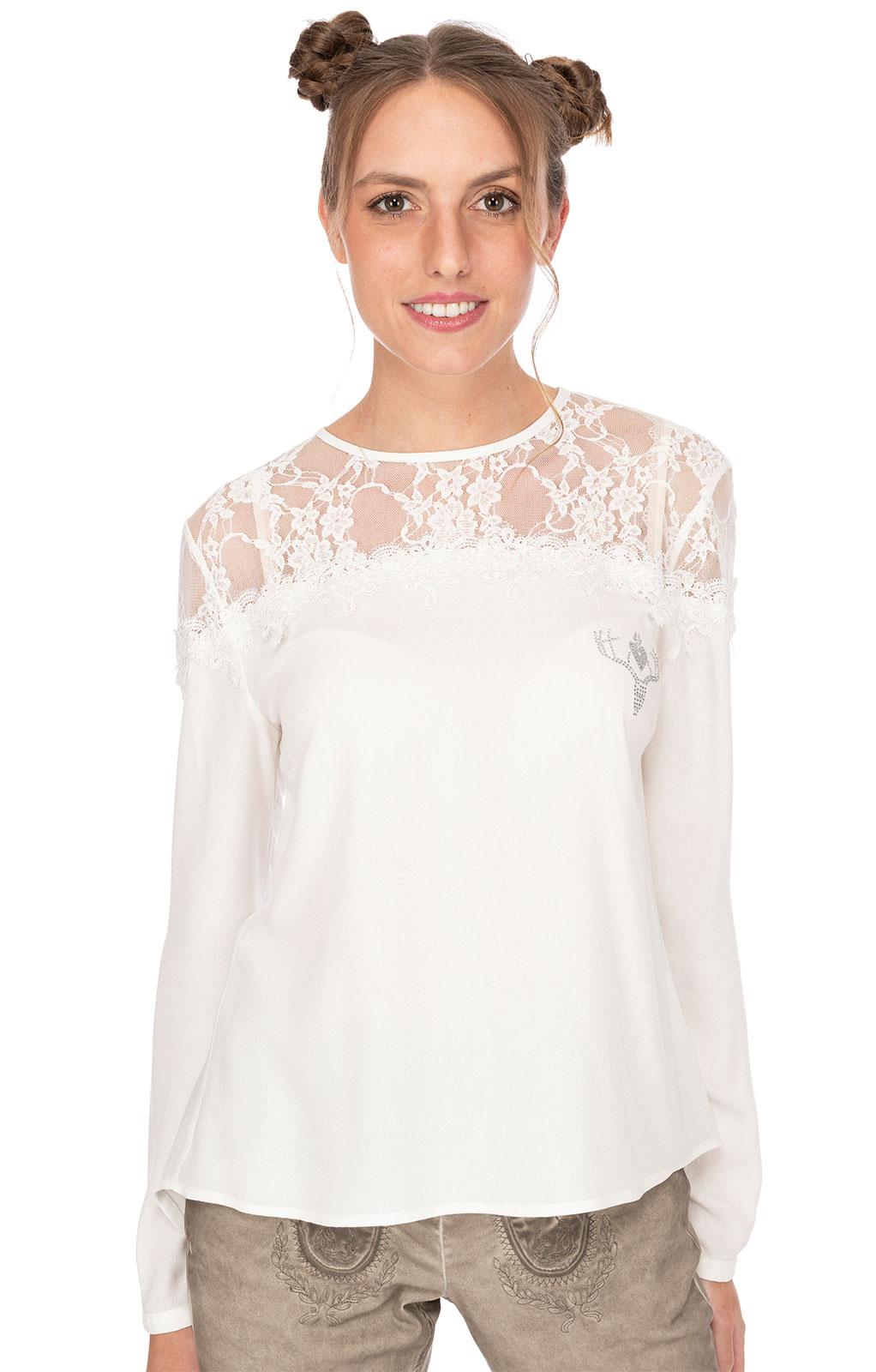 Traditional blouse TOSCA white von Hangowear