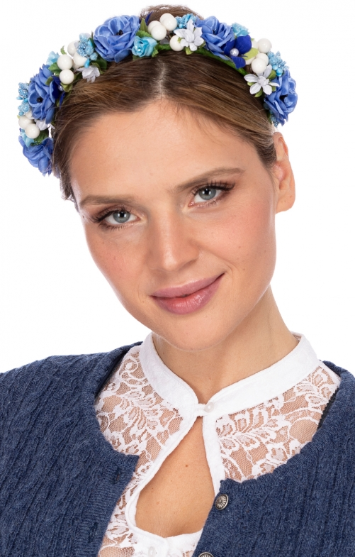 Hair- and Hat accessories SOPHIA light blue