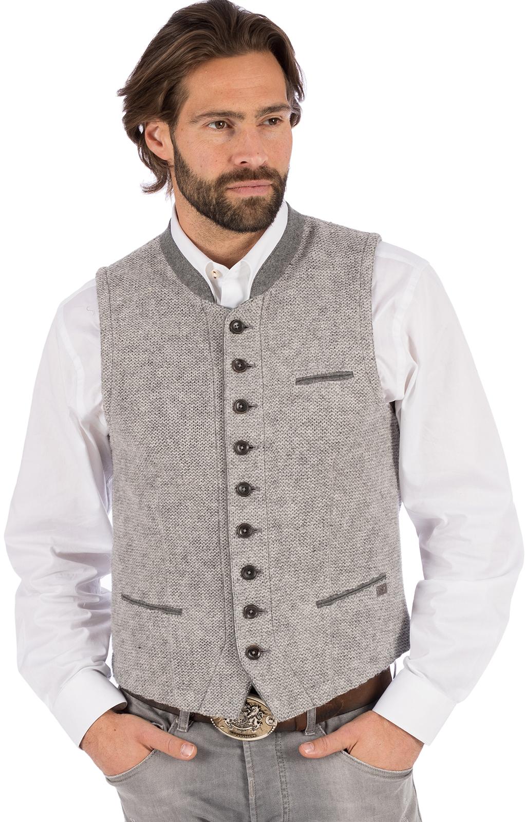 Gilet Costumi maglia KNALLER SW grigio chiaro von Spieth & Wensky