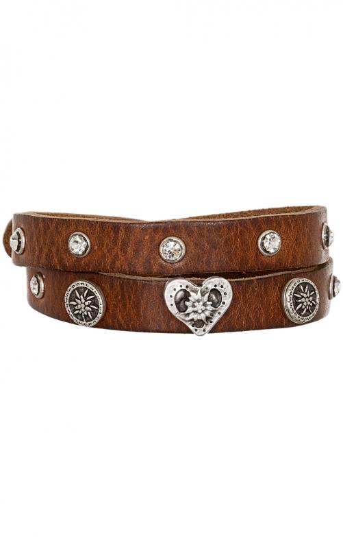 Armband 55105 Nappa hellbraun