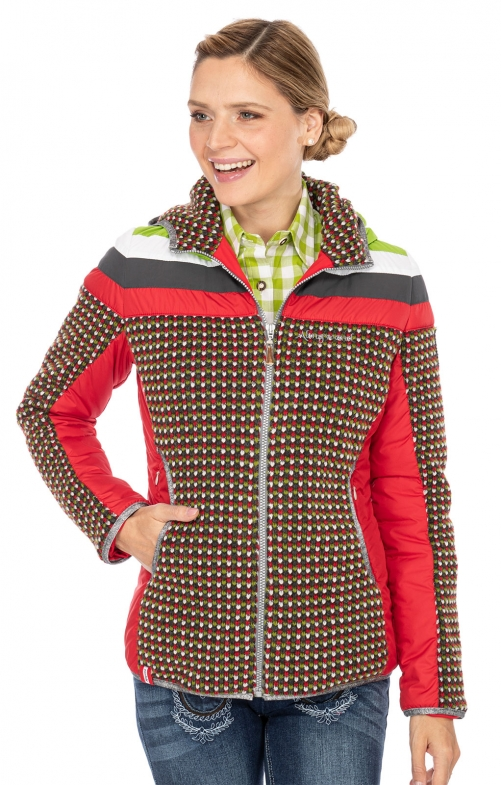 Traditional Jackets HIMMEL red green