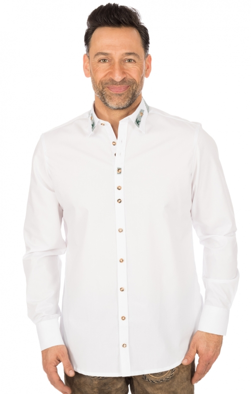German traditional shirt CLASSICO white