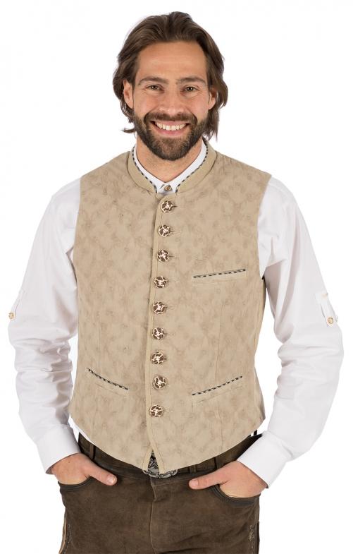 Traditional waistcoat ANTON nature