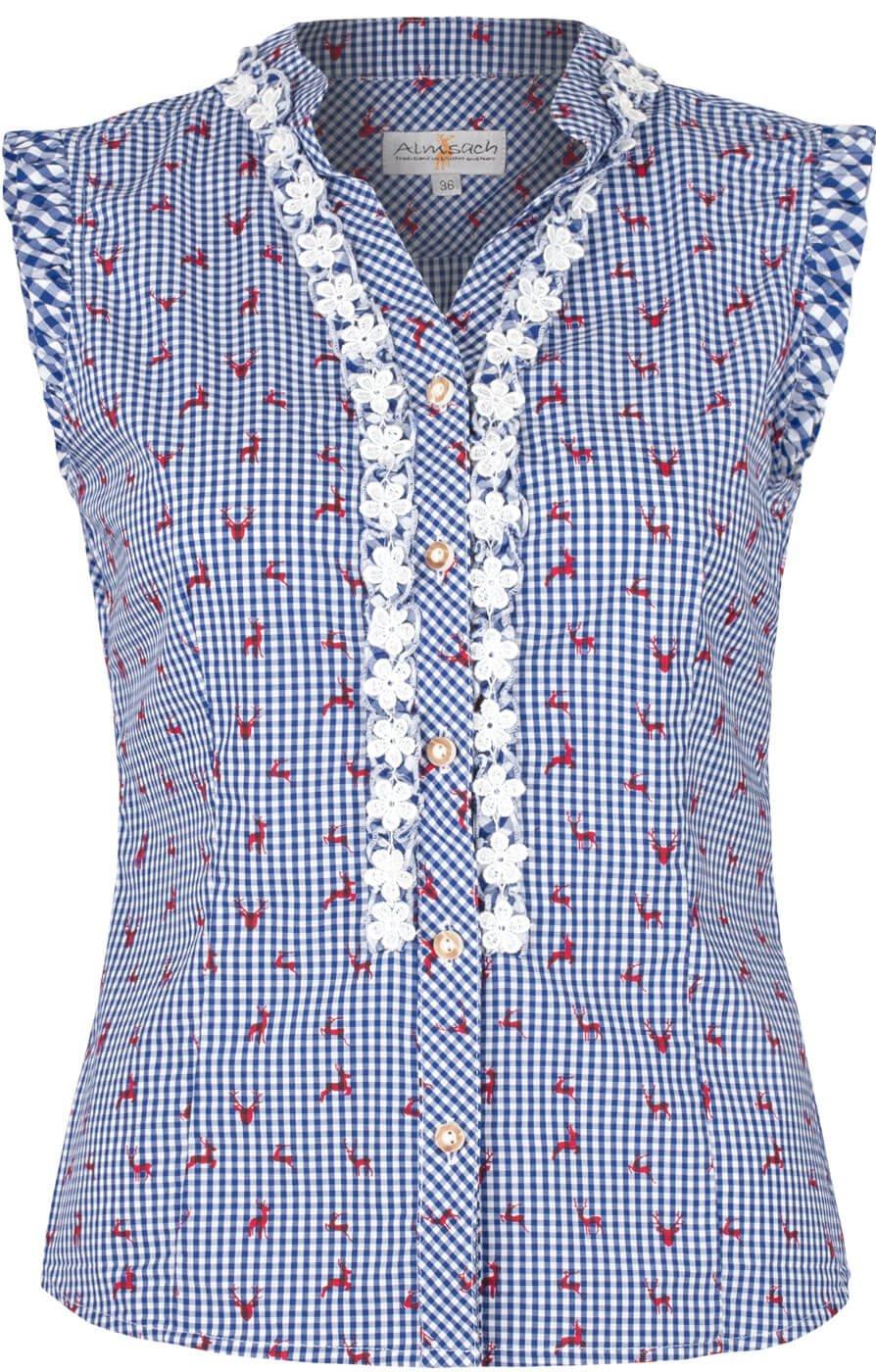 weitere Bilder von Blouse strapless BOBI-Co jeans/blauw