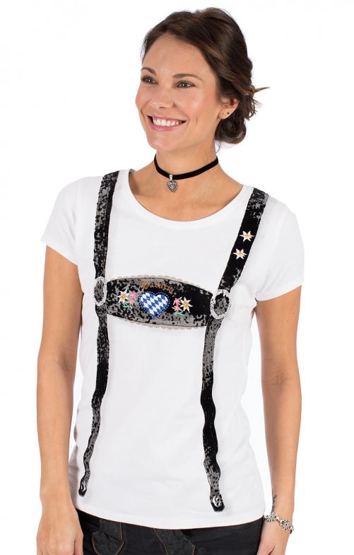 Women's|Blouse Trachten Shirt RUBY bavaria white