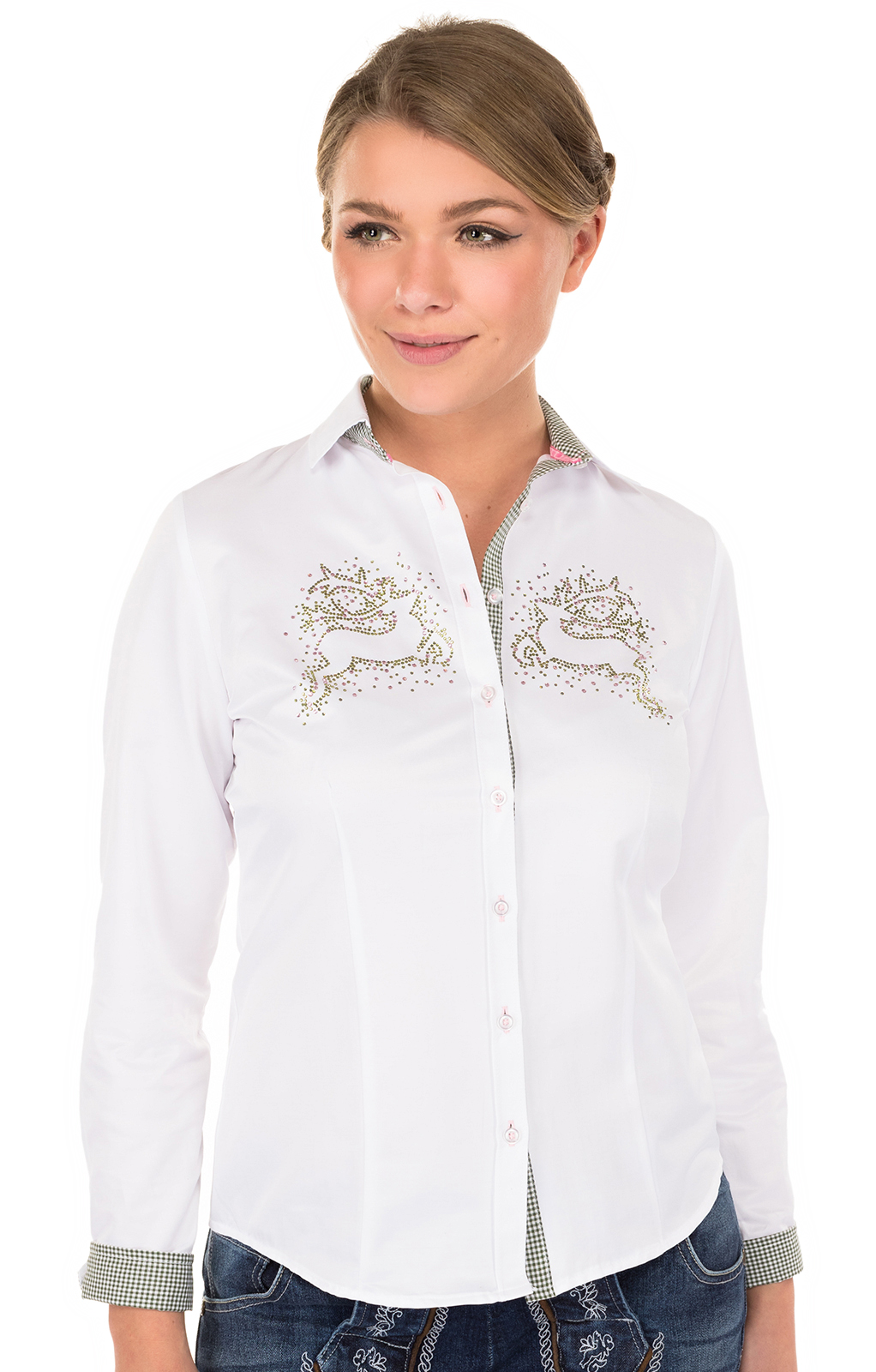 Traditional blouse 350063-2879-1white von OS-Trachten