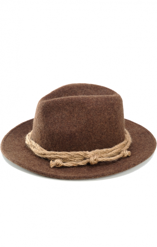 Bavarian oktoberfest hat H3535.2 brown