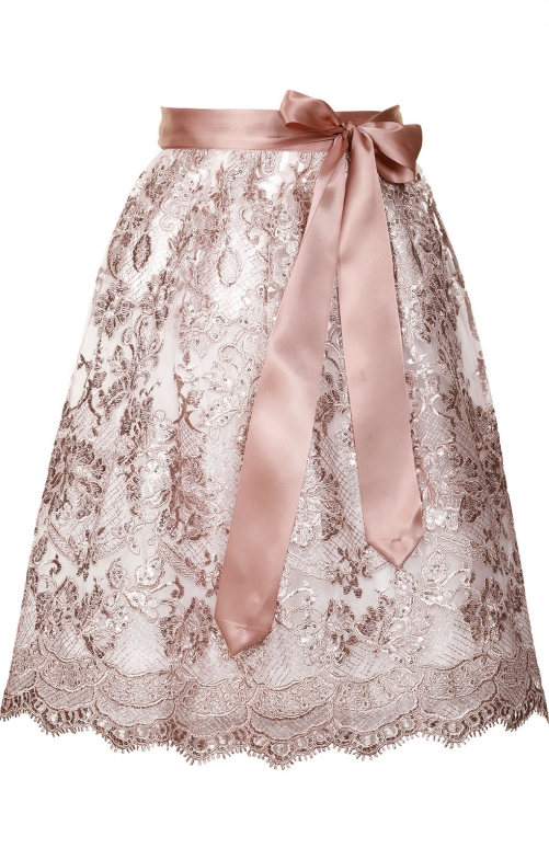 Dirndlschort 65cm NESCHA roze