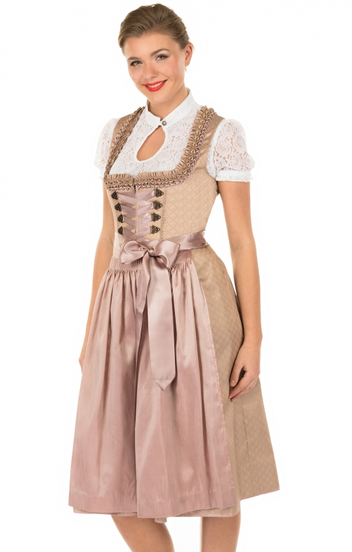 Mididirndl 2pcs. 70 cm 15767-07 brown
