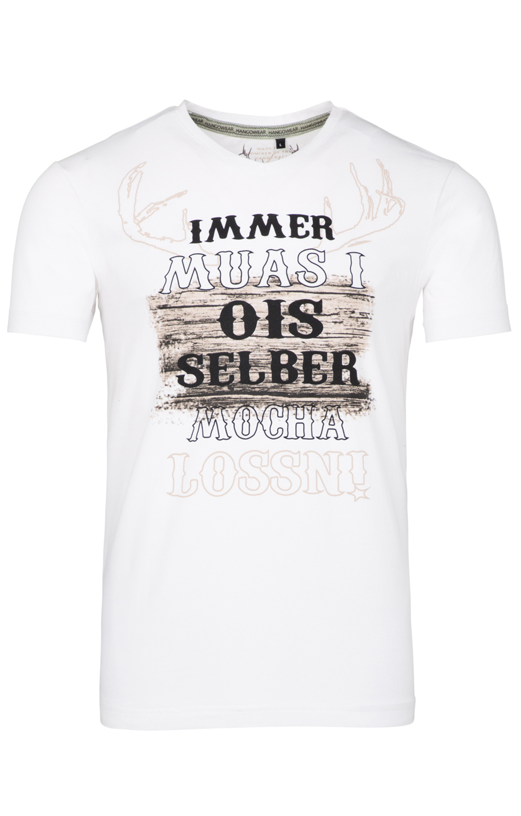 weitere Bilder von T-Shirt UROS weiß