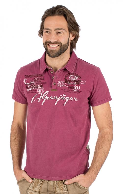Costumes T-shirt E09 - ALPENJAEGER bordeaux