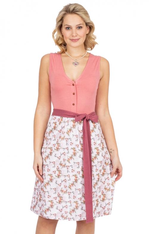 Kleid Jersey Stretch SABRINA rosa